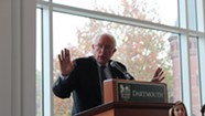 In New Hampshire, Sanders Urges Students to Get Out the (2016) Vote