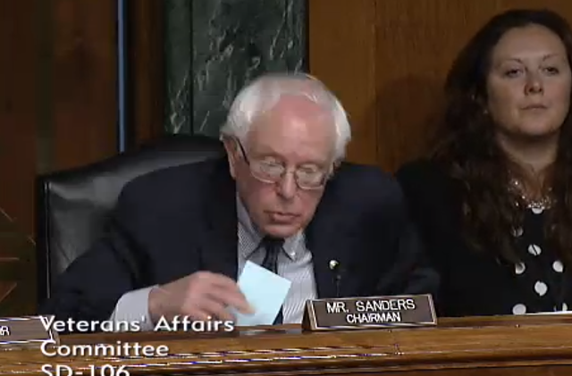 Sen. Bernie Sanders - SCREENSHOT