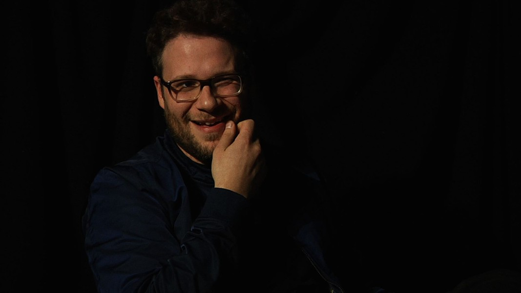 Seth Rogen at Merrill's Roxy Cinemas. - COURTESY OF EVA SOLLBERGER