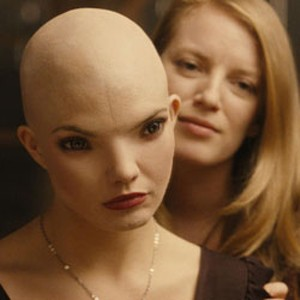 SHE MINDED ME WITH SCIENCE Chanéac has a few issues with the mom who raised her in a lab in Natali's bizarro thriller.