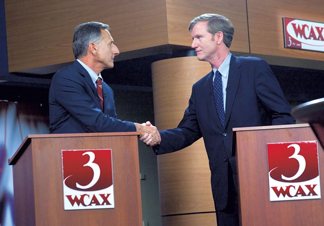 Shumlin and Scott Milne - MATTHEW THORSEN