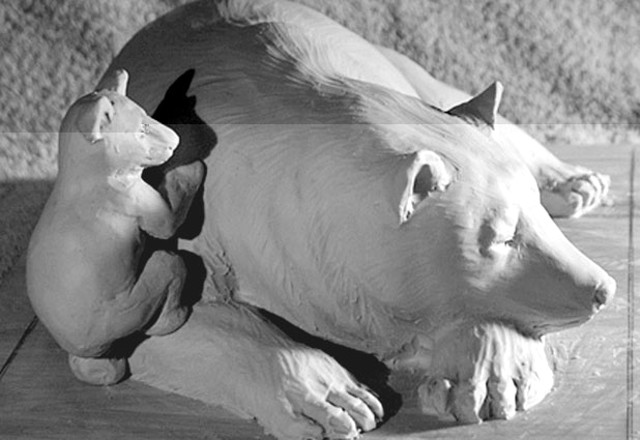 """Sleeping Bear"" maquette"