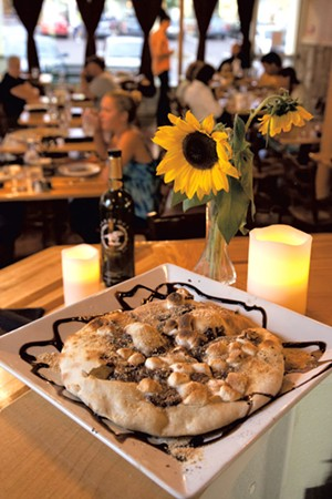 S'mores pizza - MATTHEW THORSEN