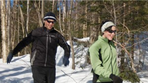 Snowshoeing at Bolton Valley