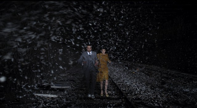Snowstorm or interstellar travel? (Mood Indigo) - BURLINGTON CITY ARTS
