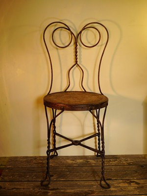 "COURTESY OF CARSHARE - ""Soda Chair No. 1"" by Ann Laberge"