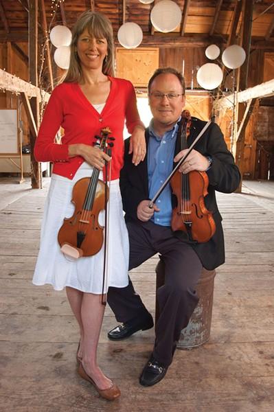 Sofia Hirsch and Michael Dabroski