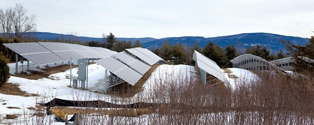 Solar array in New Haven - JAMES BUCK