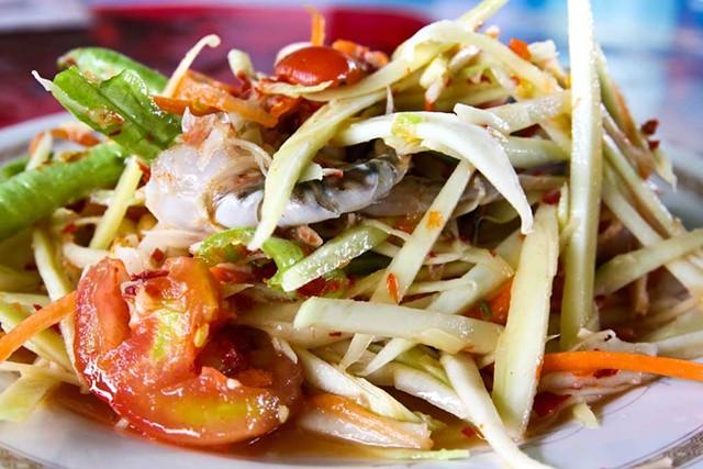 Somtam Thai Dish