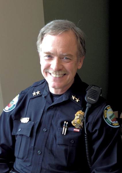 South Burlington Chief of Police, Trevor Whipple