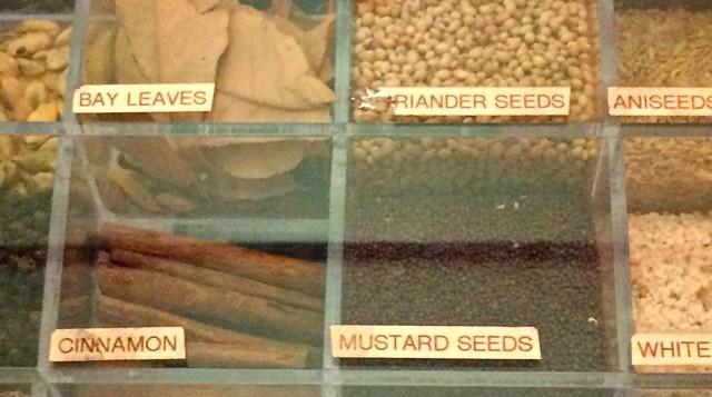 Spices displayed at the door - ALICE LEVITT