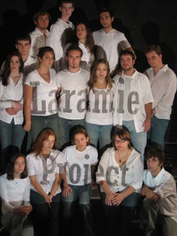 St Michael's College's cast of The Laramie Project