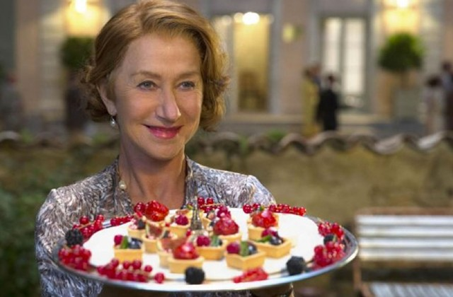 Stale Tale: Mirren serves up fine food but not, unfortunately, fine drama in Hallström's book adaptation.