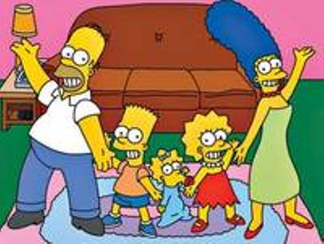 Stars of The Simpsons Movie