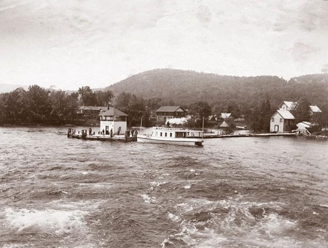 Steamer at Bolton Landing