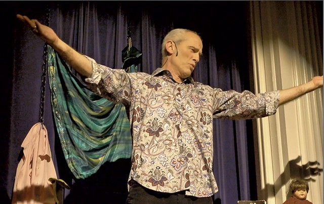 Steve Cadwell in a performance of Wild and Precious - COURTESY OF JOE LEVINE