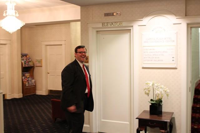 Steve Howard of the Vermont State Employees Association - PAUL HEINTZ