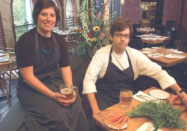 Sue Bette and Aaron Josinsky - MATTHEW THORSEN