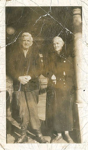 Susie Wilson with her fourth husband, Fritz Krebser - COURTESY OF MARY JANE KREBSER