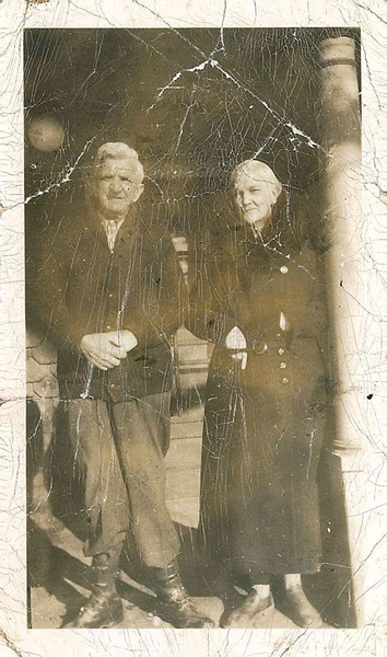 Susie Wilson with her fourth husband, Fritz Krebser - COURTESY OF MARY JANE KREBSER