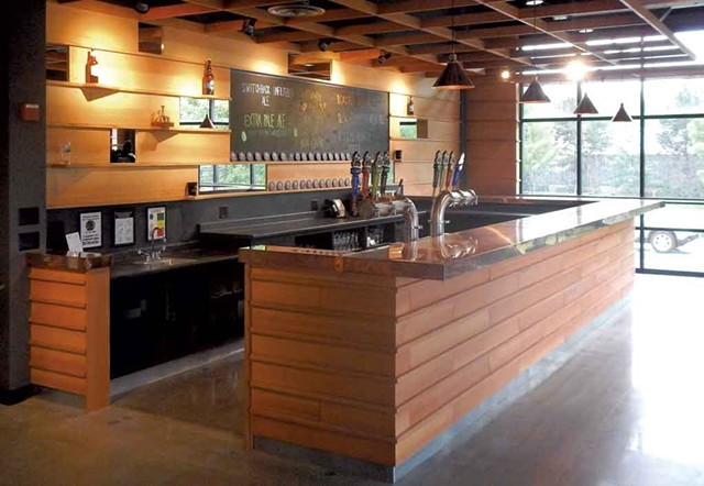 Switchback Brewing tasting room