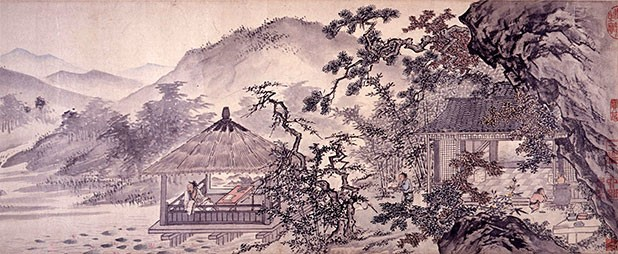Symbols of Eternity by Tang Yin