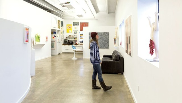 Taking in the vibe at South Gallery - FILE PHOTO: MATTHEW THORSEN