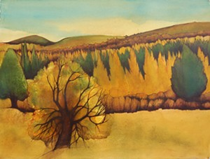 "COURTESY OF THE NORTHEAST KINGDOM ARTISANS GUILD - ""Tamarack"" by Viiu Niiler"