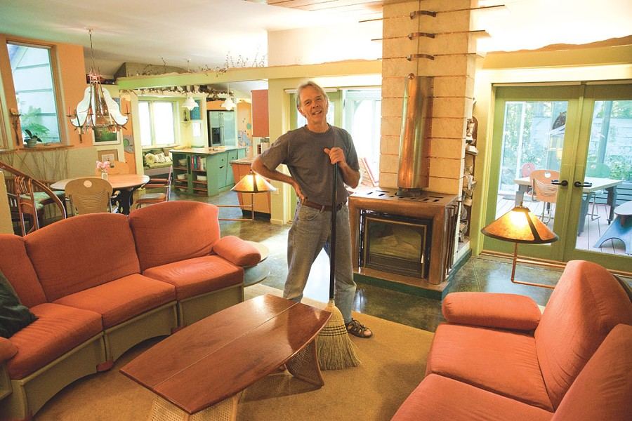 Ted Montgomery at Cobb Hill Cohousing - MATTHEW THORSEN