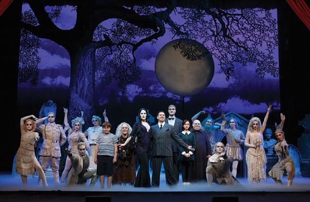 The Addams Family - PHOTOS COURTESY OF FLYNN CENTER, UVM LANE SERIES