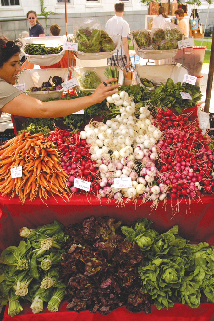 The Burlington Farmers Market - FILE: MATTHEW THORSEN