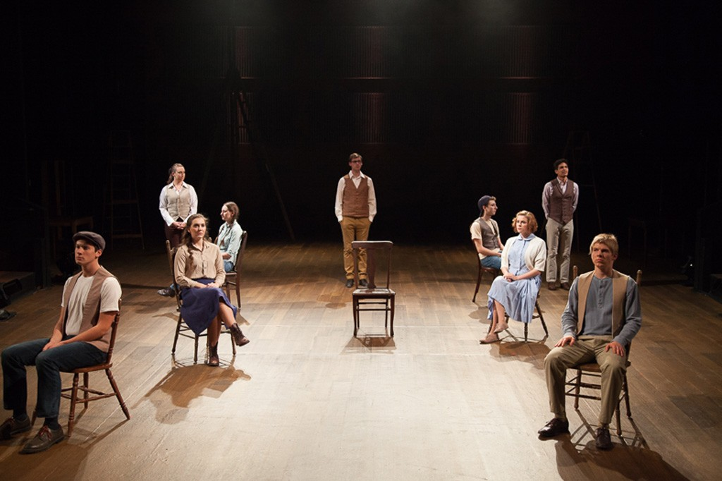 The cast of Our Town - COURTESY OF DOK WRIGHT PHOTOGRAPHY