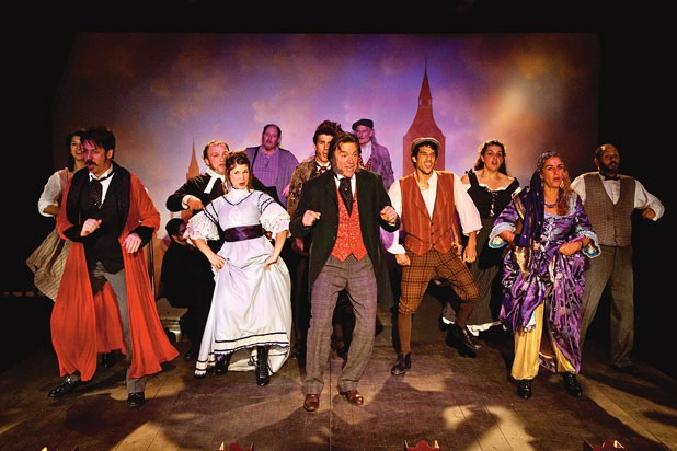 The cast of The Mystery of Edwin Drood