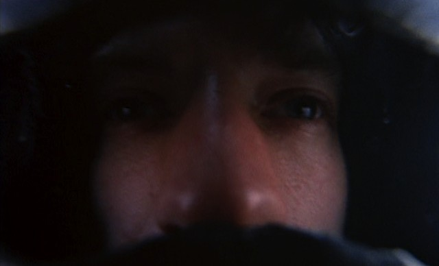 The first flashforward: A wide-angle close-up of Ned's face - MGM PICTURES