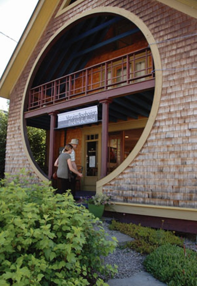 The front entrance of BigTown Gallery