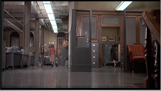 The hallway shot in Marnie (1964) - UNIVERSAL PICTURES