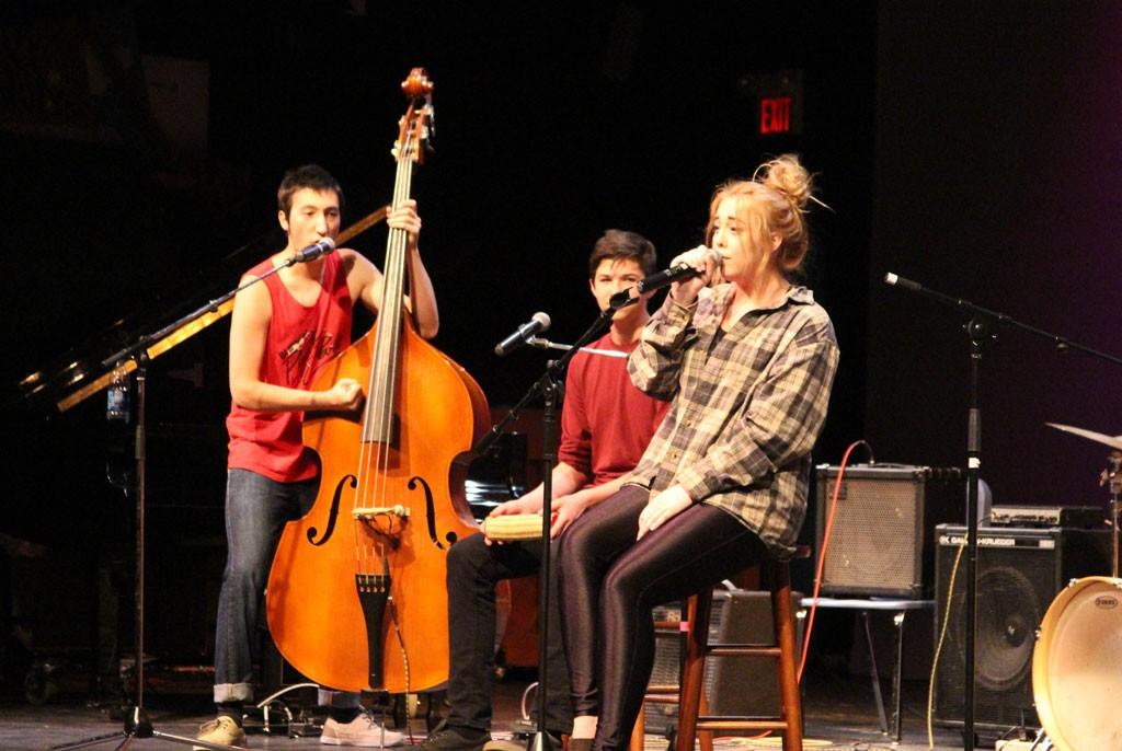 The Harwood Union High School Assembly Band - COURTESY OF SAM KROTINGER