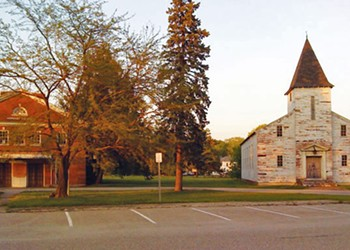 WTF: What's up with the abandoned church and neighboring theater at Fort Ethan Allen?