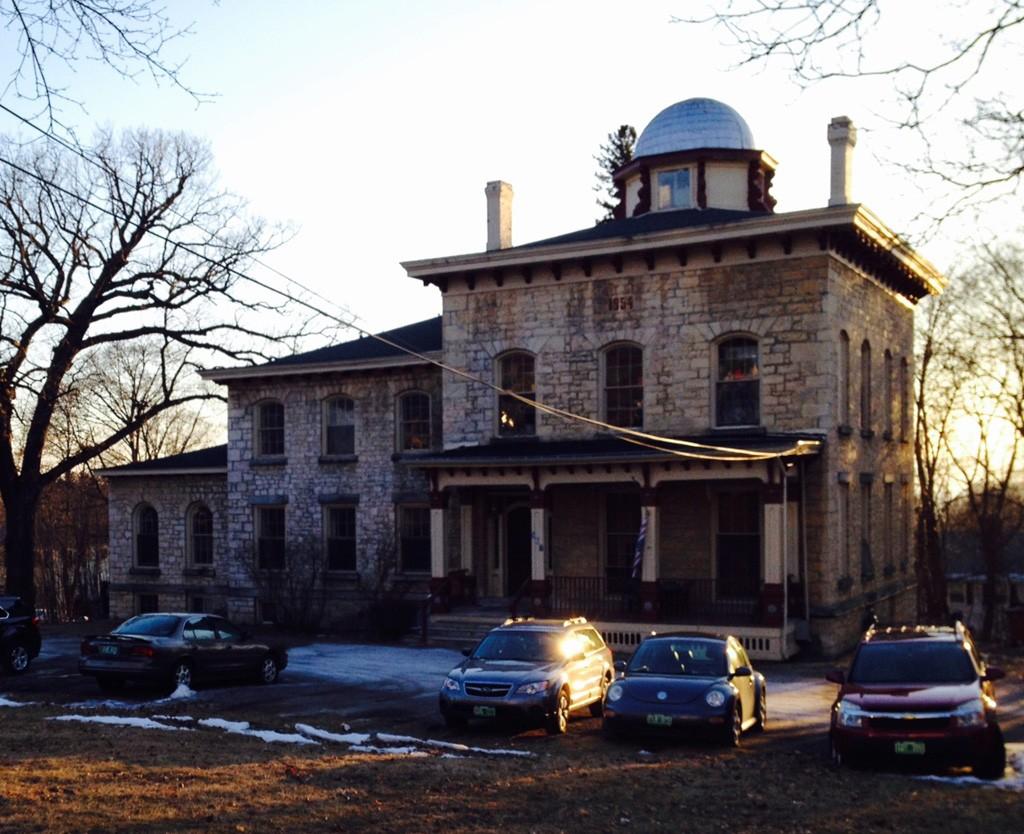 The Hickok Stone House - PAMELA POLSTON