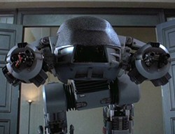 The incompetent and murderous ED-209 - MGM PICTURES