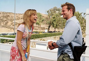 THE KOOK OF LOVE Bullock tries some of her moves on a scared Cooper in Phil Traill's romantic comedy.
