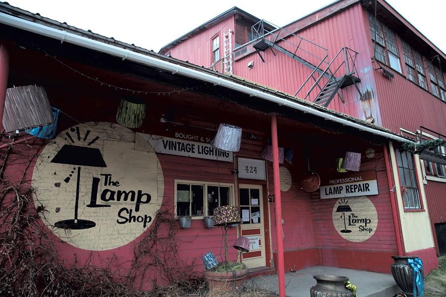 The Lamp Shop - MATTHEW THORSEN