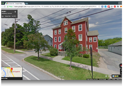 The location that once housed the health food store in present day. It is now private housing. - MIDDLEBURY POLICE