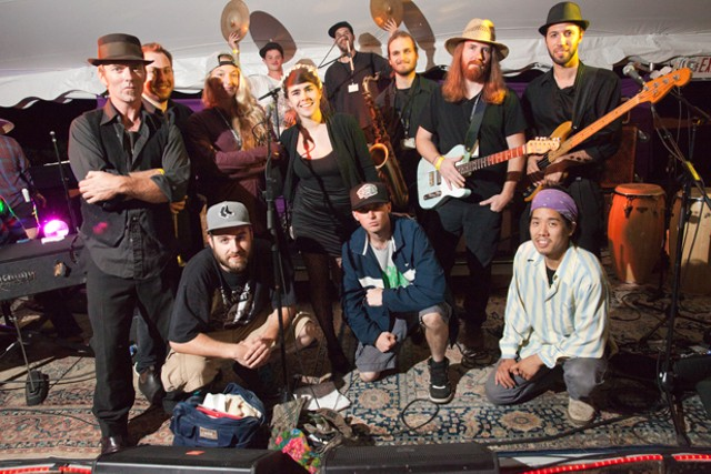 The Lynguistic Civilians and Kat Wright and the Indomitable Soul Band - MATTHEW THORSEN