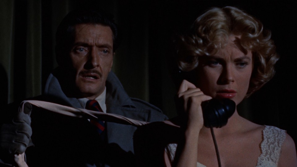 The near-murder of Margot in Dial M for Murder - WARNER BROS. PICTURES