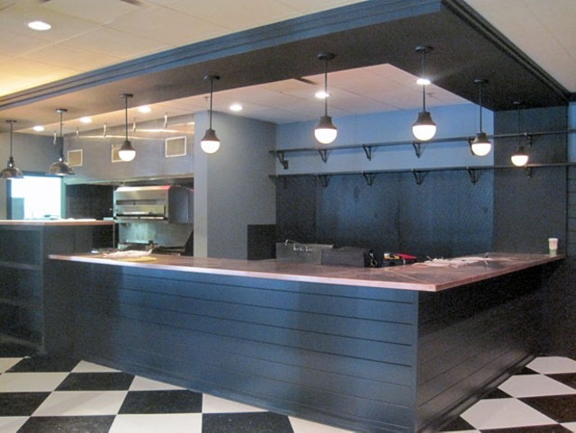 the new Bluebird Tavern bar