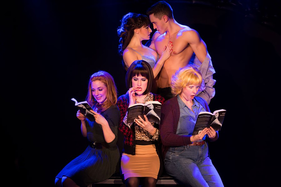 The New York cast of 50 Shades! The Musical - COURTESY OF MATTHEW MURPHY