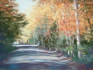 "COURTESY OF THE HARTNESS GALLERY - ""The Road Home"" by Kathrena Ravenhorst-Adams"