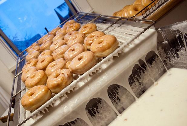 The Rubright family's doughnuts