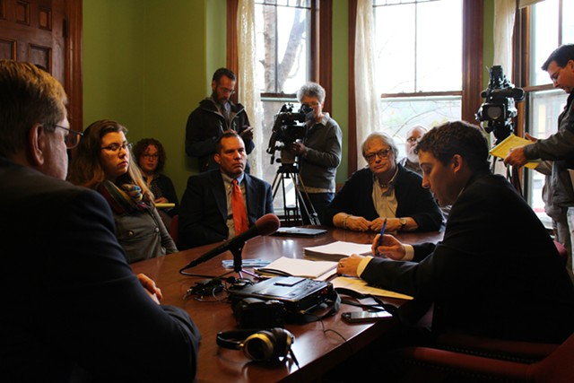 The state canvassing committee meets in Montpelier Wednesday to certify the 2014 election results. - PAUL HEINTZ